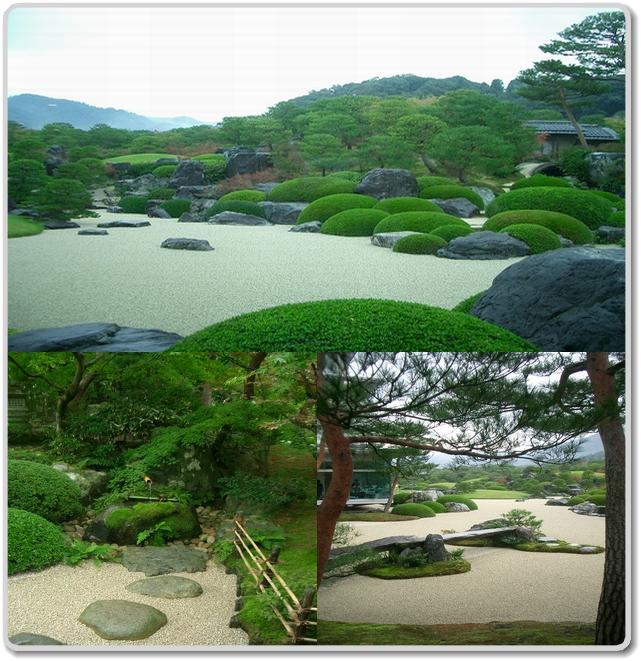 足立美術館の庭園